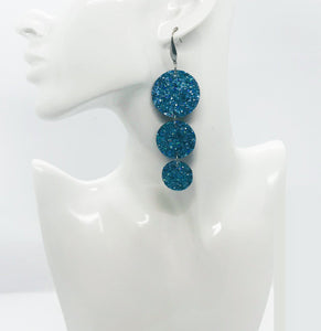 Chunky Glitter Earrings - E19-1696