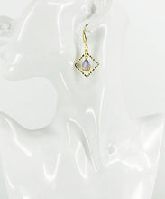 Load image into Gallery viewer, Square Pendant Earrings - E19-2645