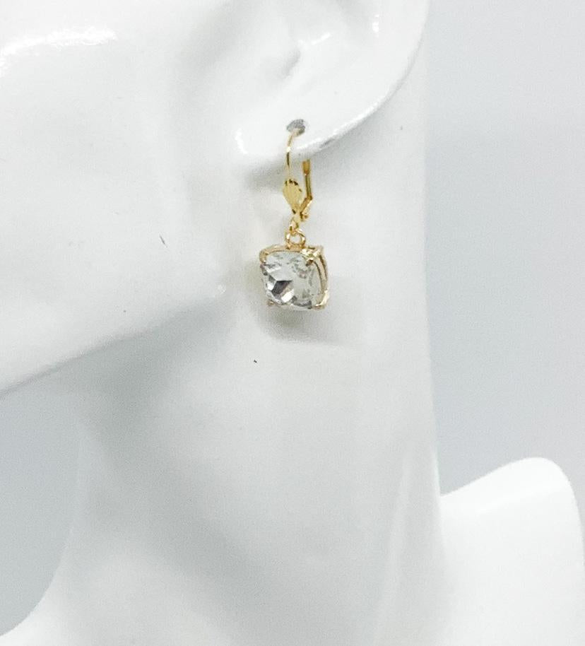 Rhinestone Dangle Earrings - E19-556