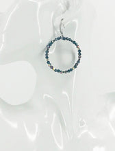 Load image into Gallery viewer, Glass Bead Hoop Earrings - E19-669