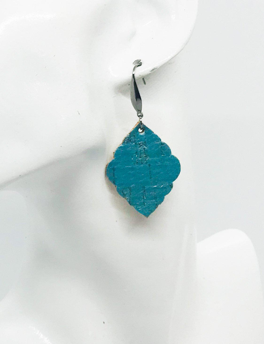 Youth Genuine Leather Earrings - E19-830