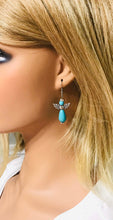 Load image into Gallery viewer, Glass Bead Angel Earrings - E338