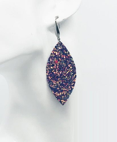 Medium Chunky Glitter Earrings - E406