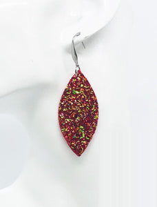 Medium Chunky Glitter Earrings - E443