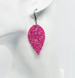 Small Chunky Glitter Earrings - E481