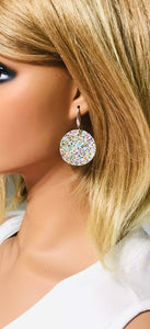Medium Chunky Glitter Earrings - E499