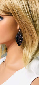 Medium Chunky Glitter Earrings - E508