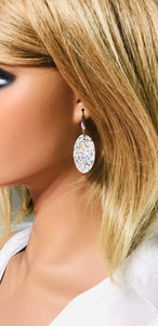 Small Chunky Glitter Earrings - E510