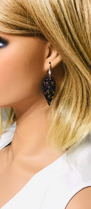 Small Chunky Glitter Earrings - E513