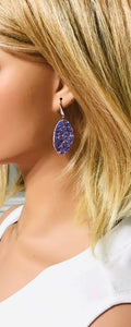 Small Chunky Glitter Earrings - E559