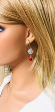 Load image into Gallery viewer, Glass Earrings - E643