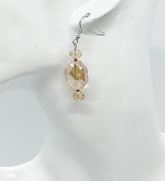 Glass Bead Earrings - E647