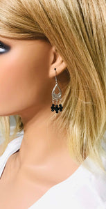 Glass Bead Chandelier Earrings - E857