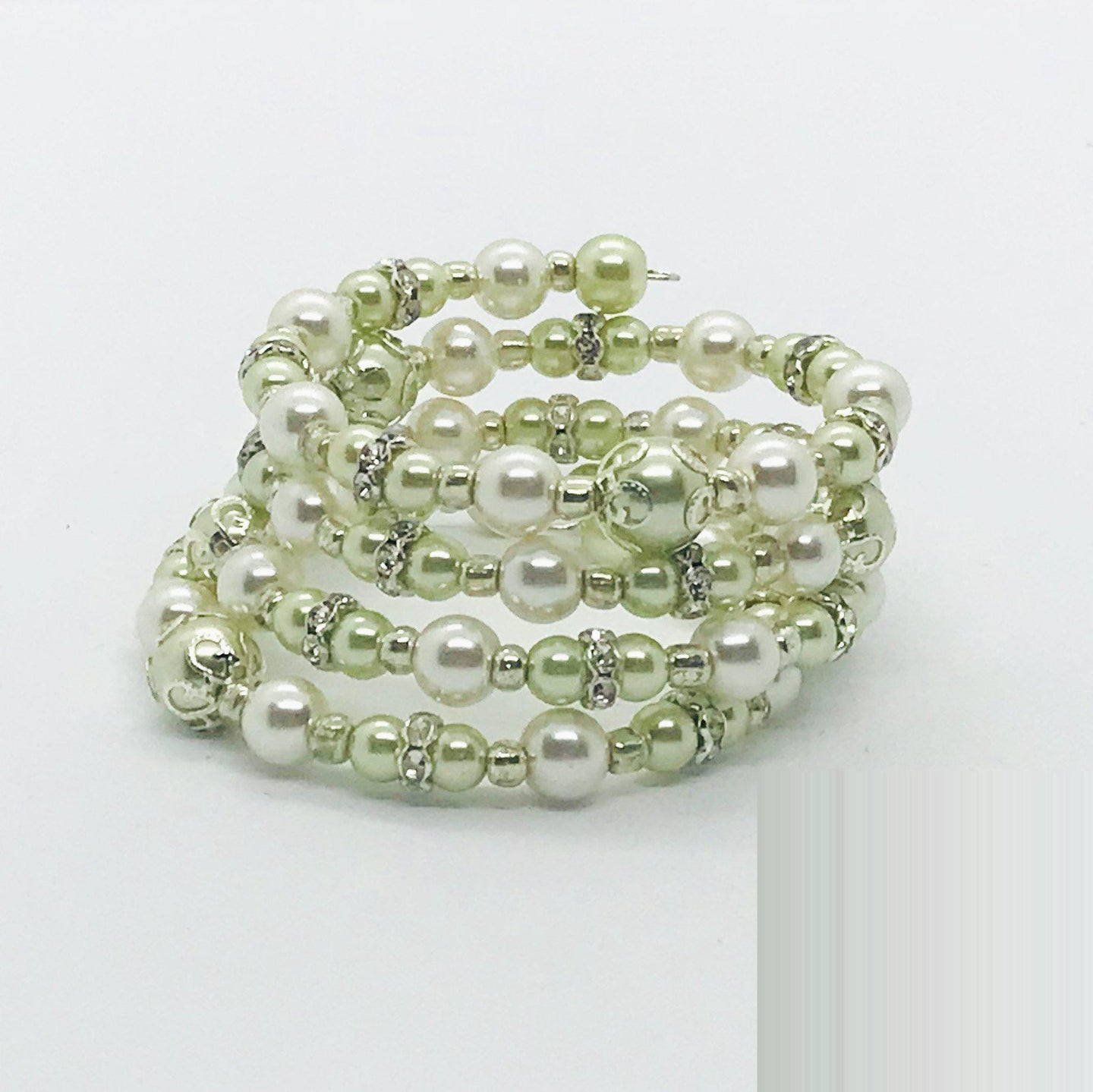 Glass Bead Wrap Bracelet - MB312