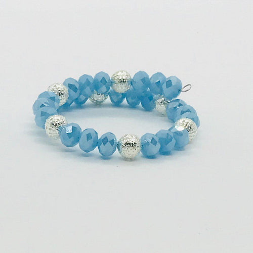 Glass Bead Wrap Bracelet - MB357