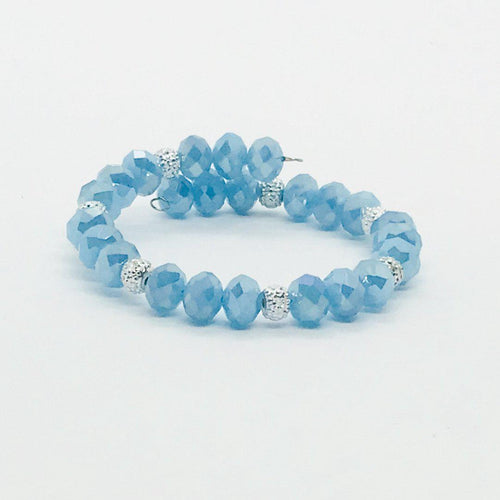 Glass Bead Wrap Bracelet - MB358