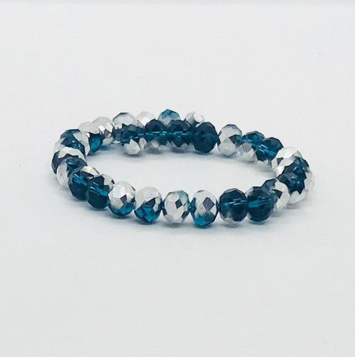 Glass Bead Wrap Bracelet - MB366