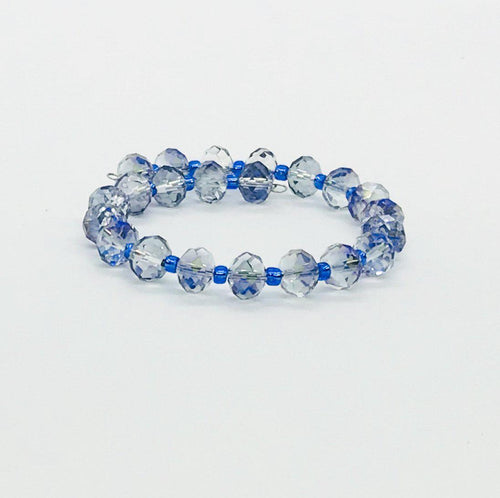 Glass Bead Wrap Bracelet - MB377