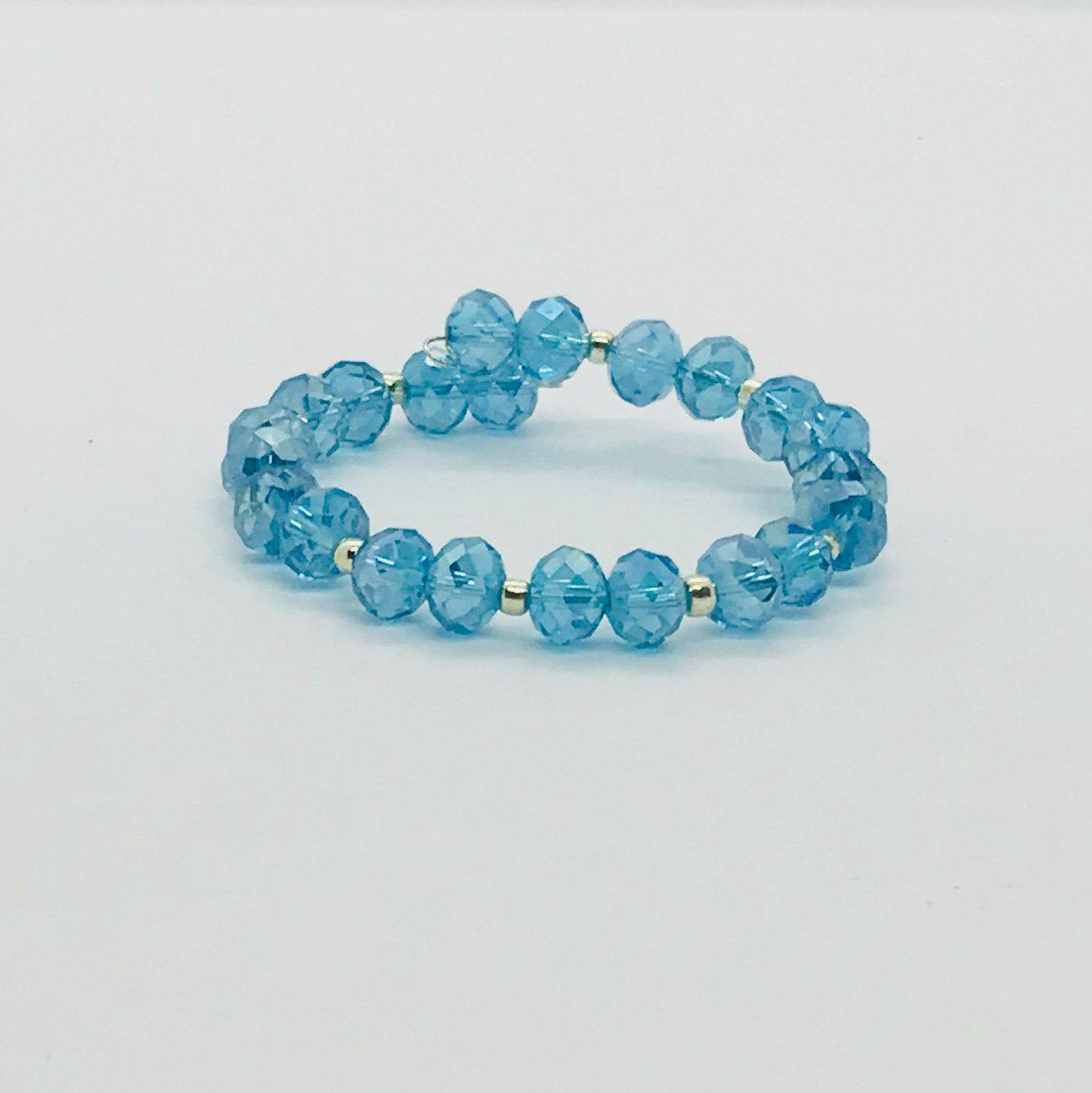 Glass Bead Cuff Bracelet - MB382