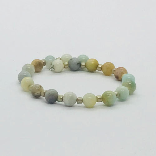 Glass Bead Wrap Bracelet - MB401