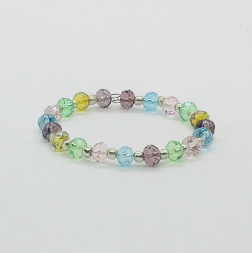 Glass Bead Cuff Bracelet - MB402