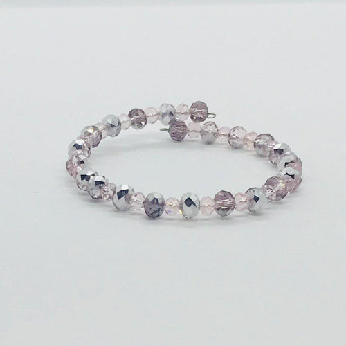 Glass Bead Wrap Bracelet - MB403
