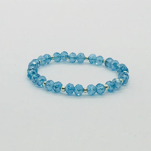 Glass Bead Cuff Bracelet - MB404
