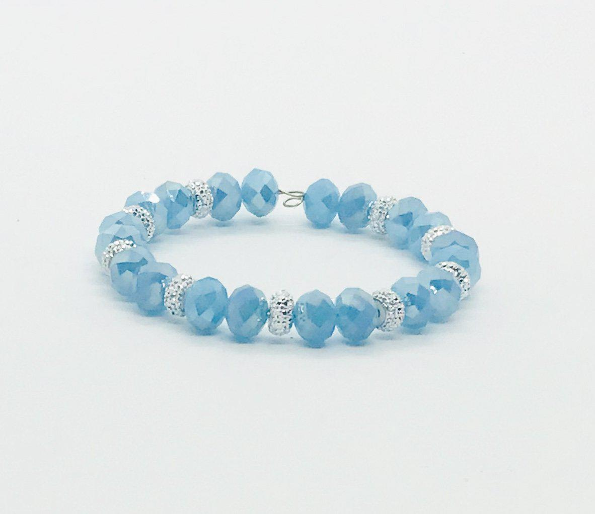 Glass Bead Wrap Bracelet - MB356