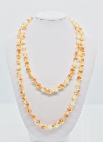 Glass Bead Necklace - N103