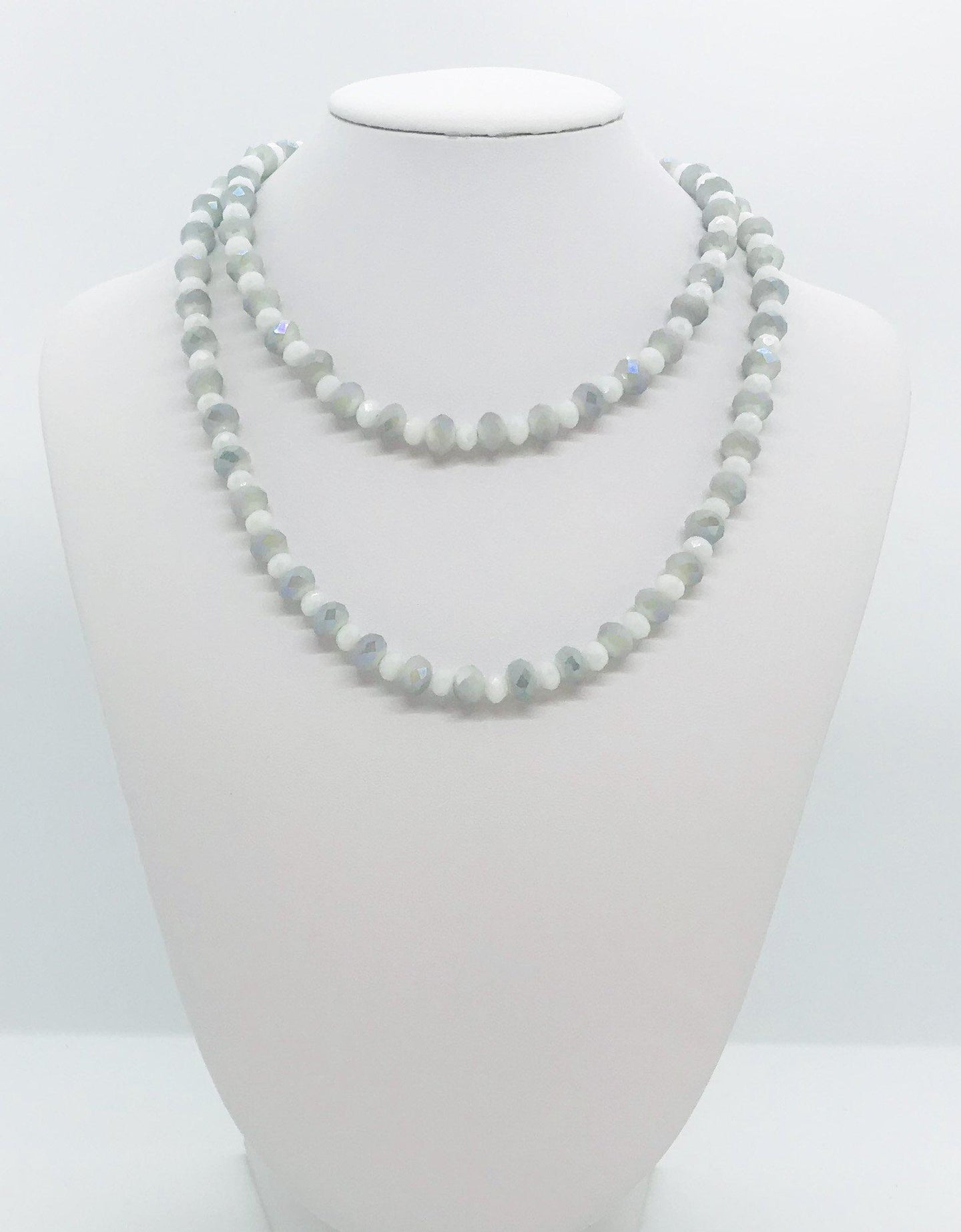 Glass Bead Necklace - N201