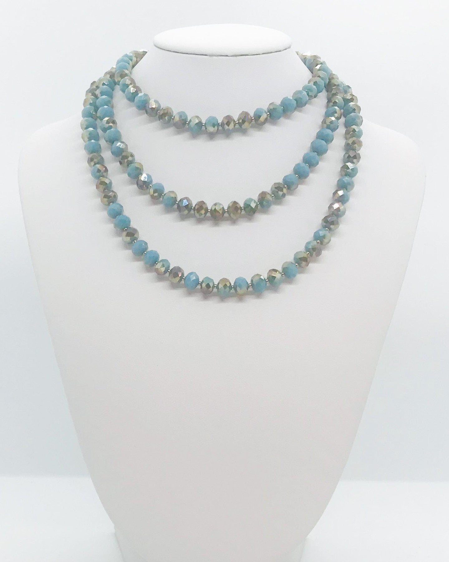 Glass Bead Necklace - N202