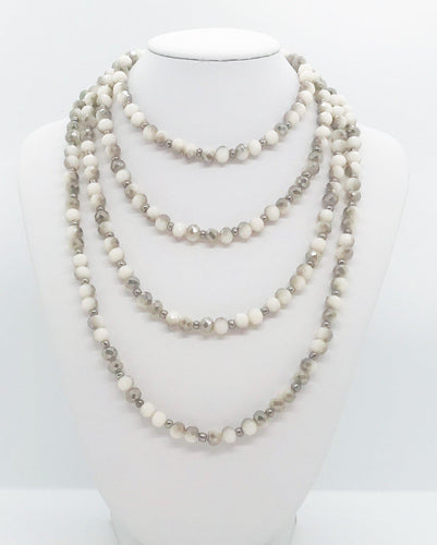 Glass Bead Necklace - N203