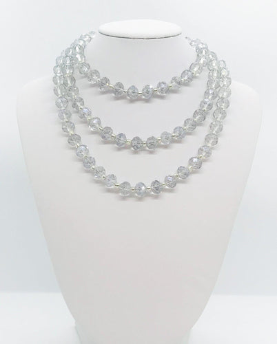 Glass Bead Necklace - N207