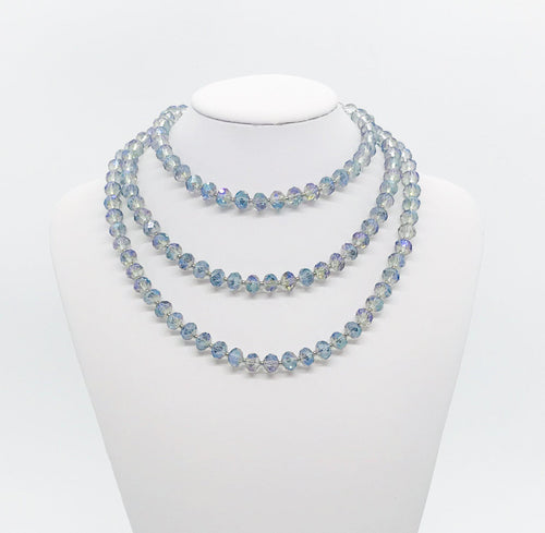 Glass Bead Necklace - N212