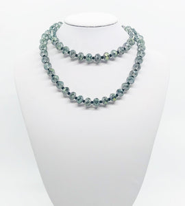 "26"" Glass Bead Necklace - N234"