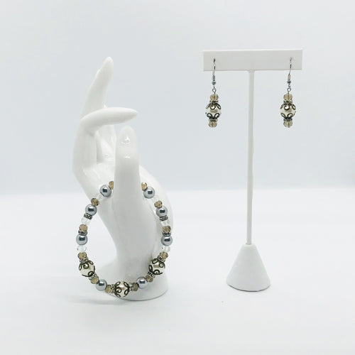 Earring and Bracelet Set - SET131