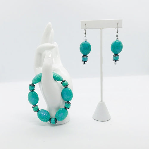 Earring and Bracelet Set - SET156