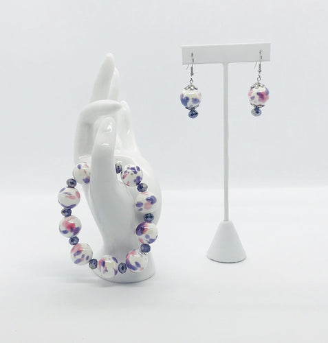 Bracelet and Earring Set - SET165
