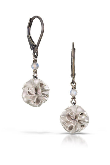 mini flora drop earrings