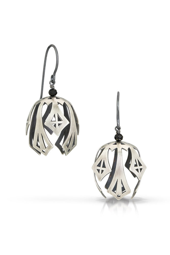 pod drop earrings - large