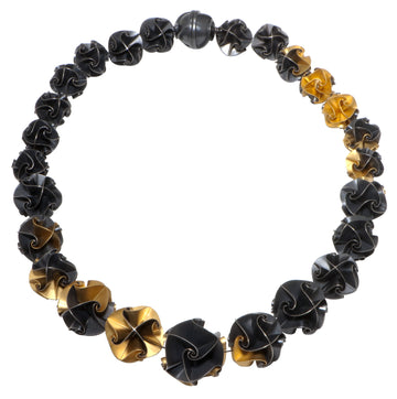 Continuous Flora Necklace - ox/gold