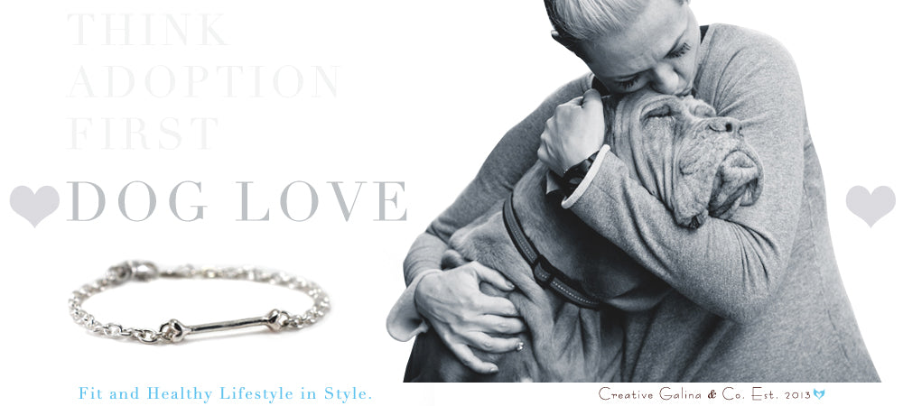 Dog Love Collection, handmade jewelry made to make a difference.