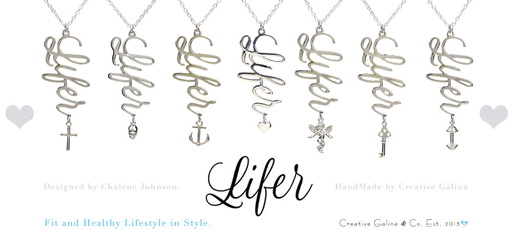 Lifer Necklace - collaboration with Charlene Johnson