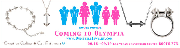 Dumbbell Jewelry One week Olympia Special