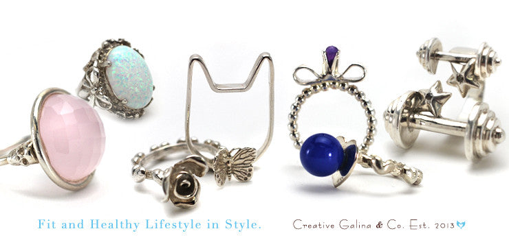 Creative Galina Treasures Hand made One of a kind collection to inspire.