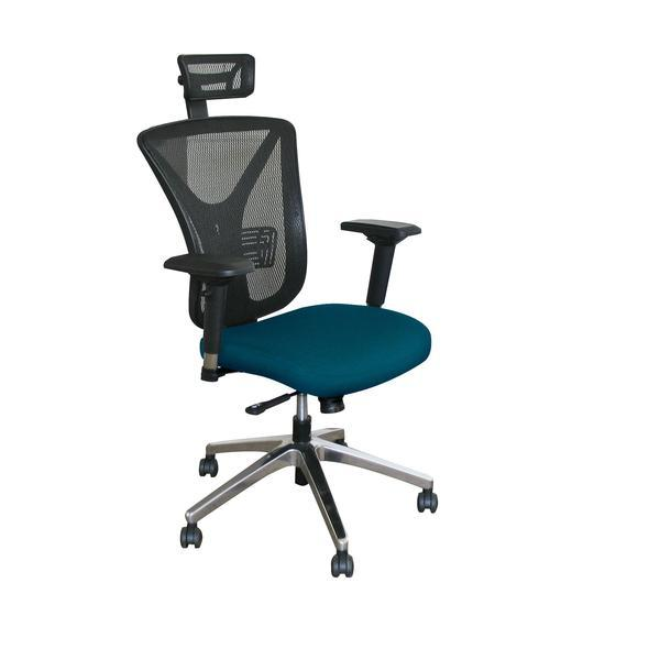 Chair - Marvel Executive Mesh Chair With Headrest And Chrome Base
