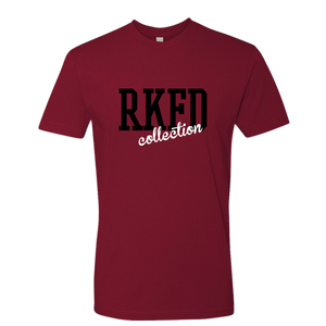 RKFD Summer Logo Tee (Deep Red)