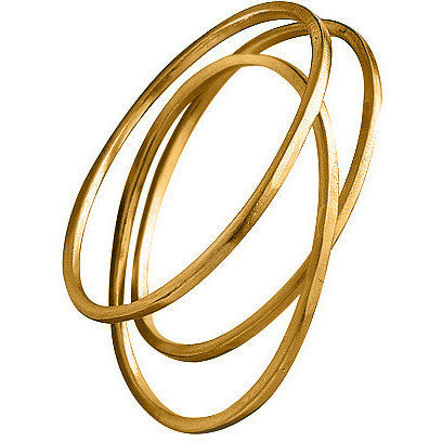 ORGANIC OVAL BANGLE - ELMABLINT.COM