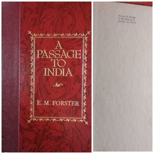 A passage to India by: E.M.Forster