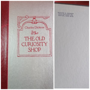 The Old Curiosity Shop by: Charles Dickens